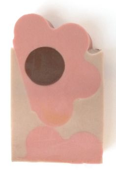 Nothing like calamine retro rosettes in the morning. Brighton Beach Arts ~ Products ~ Disarmingly cheerful clay and coconut cream facial soap ~ Shopify