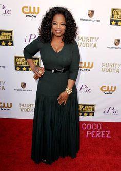 Critics' Choice Awards 2014: Oprah looks great!