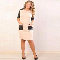 b3d8bb4414cc Plus Size Womens Dresses Summer Dress 2017 Large size dress Back Split  Vestidos Ukraine Ladies Pocket Casual Dress