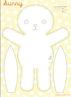 DIY Sewing Bunny #diy #craft #sew