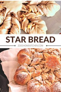 Star Bread, Holiday Bread, Bread Recipes, Home Kitchens, Make It Simple, Stars, Bakery Recipes, Kitchen, Sterne