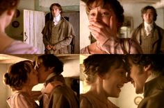 long awaited.... Hattie Morahan (Elinor Dashwood) & Dan Stevens (Edward Ferrars) - Sense & Sensibility (TV, Mini-Series, 2008)