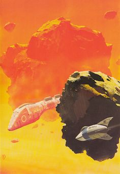 CHRIS FOSS - art for The Early Asimov or, Eleven Years of Trying Volume 2 by Isaac Asimov - 1974 Panther Books