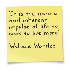 Quote by Wallace Wattles in the Science of Getting Rich    http://tonsofrevenueonline.com/