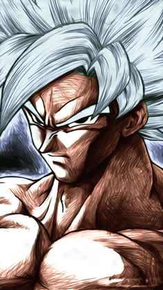 Badass Mastered Ultra Instinct Goku in L Ryuzaki Boards