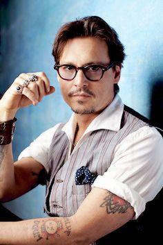 Johnny Depp a photographié en 2011.