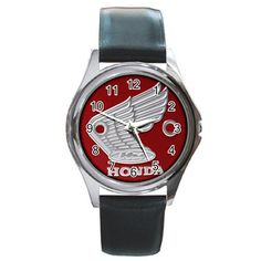 Leatherband Honda S90 Logo Watch by hwandikaiko on Etsy