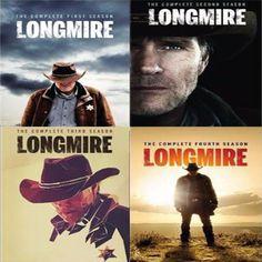 Longmire Seasons 1-4 Set on DVD