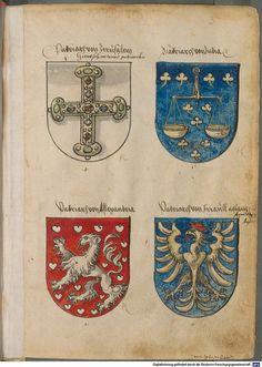 Image 00007Genealogischer Vorspann Ältester Wappen (3r)