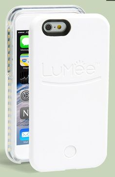 LuMee Lighted Smartphone Case for iPhone 6 available at #Nordstrom