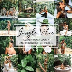 Jungle Vibes - Travel Presets, Green Presets, Forest Presets, Bali Presets - Healty fitness home cleaning World Photography, Digital Photography, Amazing Photography, Photography Tips, Photography Training, Photoshop Presets, Photoshop Filters Free, Jungle Vibes, Photo Editing Vsco