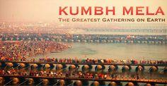 Ecco le immagini dell'ultimo Maha Kumbh Mela, imponente pellegrinaggio Hindu che si svolge ogni 12 anni ad Allahabad con 100 milioni di persone.