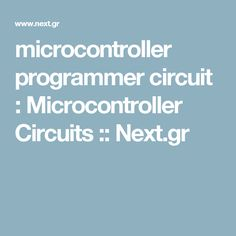 10 best atmel avr embedded system development tutorials imagesthis page contain electronic circuits about programmer circuits at category microcontroller programmer circuit microcontroller circuitscircuits and