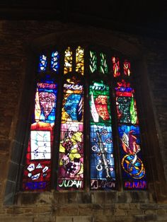 Twitter / RevRichardColes: John Piper window at All Hallows' ...