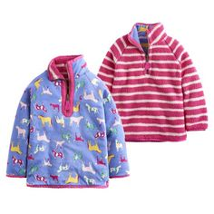 Joules Junior Cosette Blue Reversible Sweatshirt  #joules #tackroominc