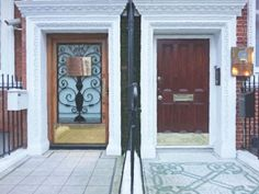 """from the travelettes » the finest """"doorporn"""" of london, uk"""