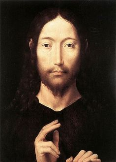 Christ Giving His Blessing, by Hans Memling (1435-1494)