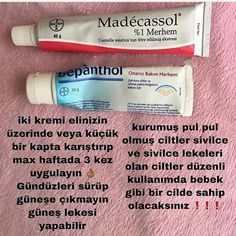 Madecassol krem ve bepanthol krem faydaları - Health and wellness: What comes naturally Good Skin Tips, Healthy Skin Tips, Skin Care Tips, Beauty Care, Beauty Skin, Health And Beauty, Diy Beauty, Face Beauty, Homemade Beauty