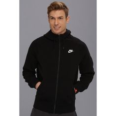 AW77 Fleece FZ Hoodie Nike | 6pm.com