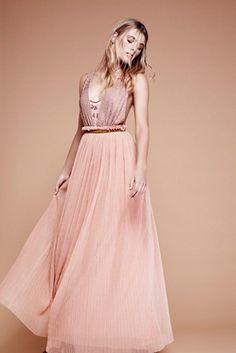 Womens CLEO MAXI DRESS - Bohemian Summer Fashion Trend 2017