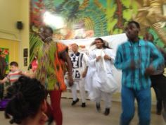African Dancing at Haringey's Cultural Event Summer 2013