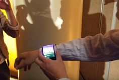Lenovo CPlus Bendable Smartphone. I will bend it on my wrist.