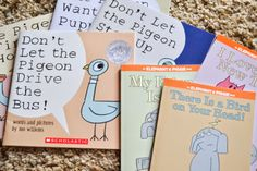 Mo Willems - An Author Study with Pigeon, Elephant & Piggie, and Knuffle Bunny for Grades K-2