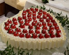 Spread Smiles by Decorating Your Cake with These Strawberries