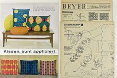 1960s. Beyer Großes buntes Handarbeitsheft SH 1/62