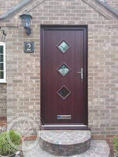 1000 images about solidor rosewood timber composite for Wooden front doors fitted