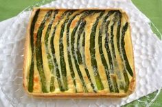Antipasti ricette Torta salata agli asparagi