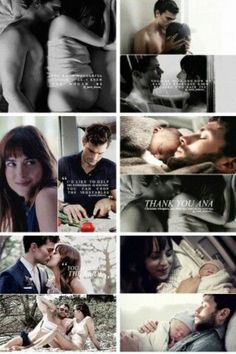 Fifty Shades Freed, Christian and Anastasia Grey