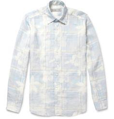 Etro - Printed Linen Shirt 