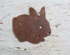Rusty bunny #cute #bunny #rabbit #bunnylove #rusticart #cutdecor