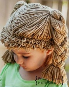 Cabbage patch wig hat cabbage patch kid wig for baby cabbage patch hat cabbage patch crochet hat cabbage patch baby costume 0 24 mo – Artofit Crochet Kids Hats, Crochet Cap, Crochet Beanie, Crochet Crafts, Crochet Clothes, Crochet Stitches, Knitted Hats, Crochet Patterns, Crochet Wig Pattern