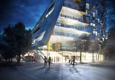 Green architect @Bjarke Sejersen Sejersen Sejersen Ingels takes Manhattan