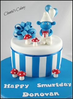 CakesDecor - a place for people who love cake decorating. Fondant Cakes, Cupcake Cakes, Cupcakes, Beautiful Cakes, Amazing Cakes, 2 Birthday Cake, Types Of Cakes, Novelty Cakes, Fancy Cakes