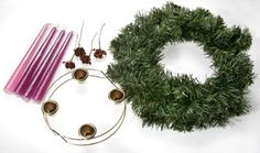 Make Your Own Advent Wreath at Home