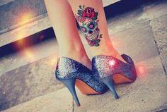 Tatuagem de caveira mexicana - GEEKISS