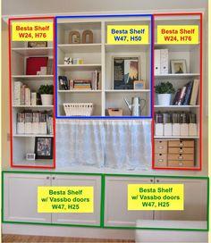 Besta Built-In Family Room Bookshelf and TV Unit - IKEA Hackers - IKEA Hackers