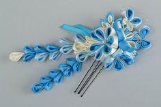 Resultado de imagen de flores de cinta de raso
