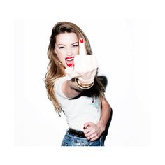 haven't you heard about Amber Heard? ❤ liked on Polyvore featuring amber heard