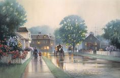 Paul Landry - Summer Mist - Search Gallery One for Landry limited edition prints, giclee canvases and original paintings by internationally-known artists Workshop, Christmas Scenes, Source Of Inspiration, Painting Patterns, Limited Edition Prints, Canvas Art Prints, Home Art, Original Paintings, Oil Paintings