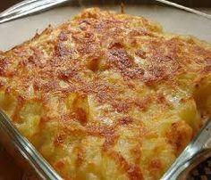 Fırında Kremalı Patates Tarifi - http://www.yemekgurmesi.net/firinda-kremali-patates-tarifi-2.html