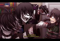 Laughing Jack this is sooo cool it looks like an anime show. other poeple my think this is creepy but SO WHAT