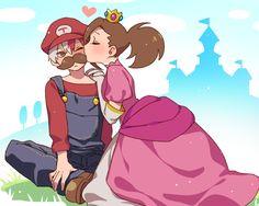 Boku no Hero Academia x Super Mario Bros    Cross-Over [ Todoroki Shouto, Momo Yaoyorozu. ]