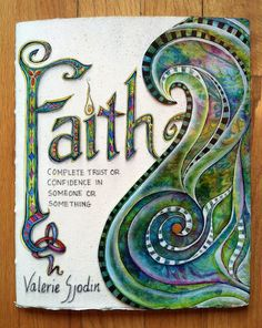 visual blessings: Journaling Faith