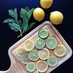 Detox water preparations