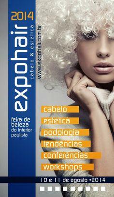 Studio B Hair & Make-up: Expohair 2014 Cabelo e Estética fiquem ligados