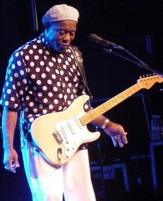 Buddy Guy, omg he's awesome! Saw him at the Ryman